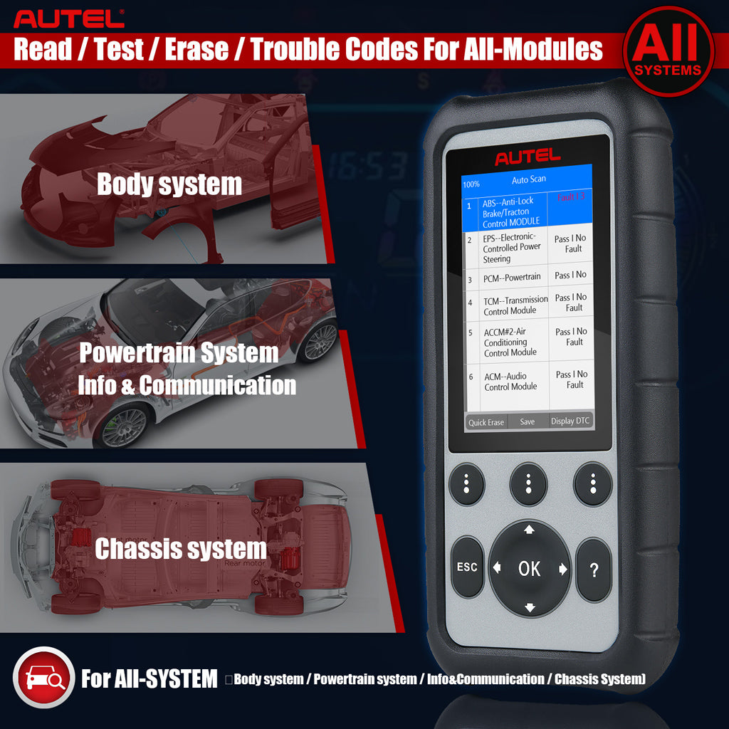 Autel md806 pro OBD2 Scanner for all modules diagnose