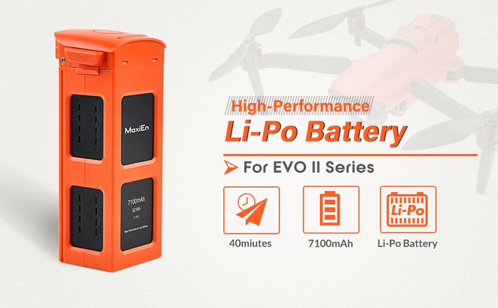 autel evo ii battery