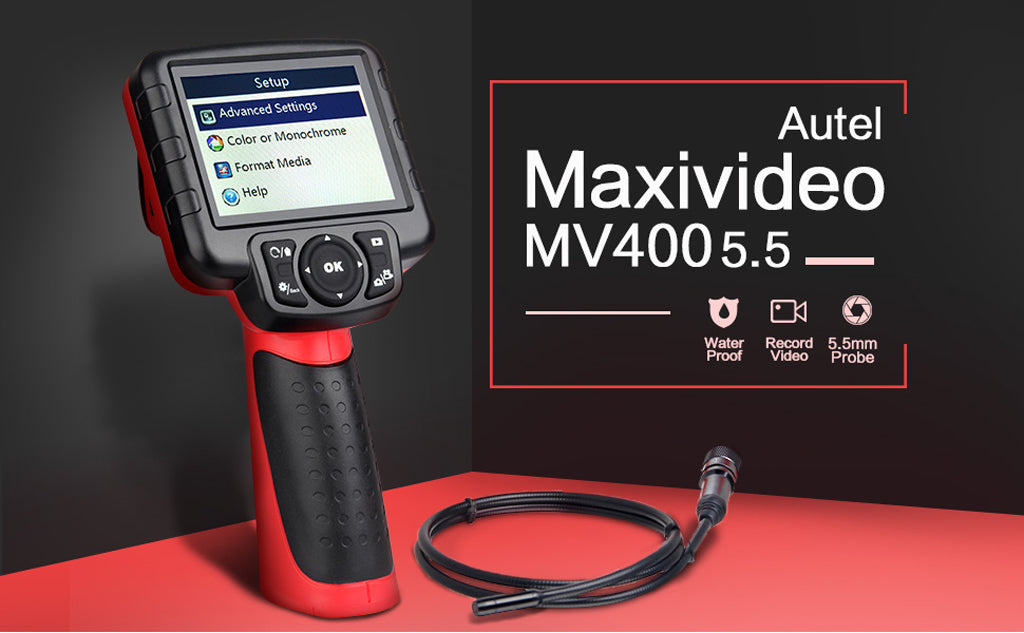 Autel MaxiVideo MV400 Inspection Cameras function overview