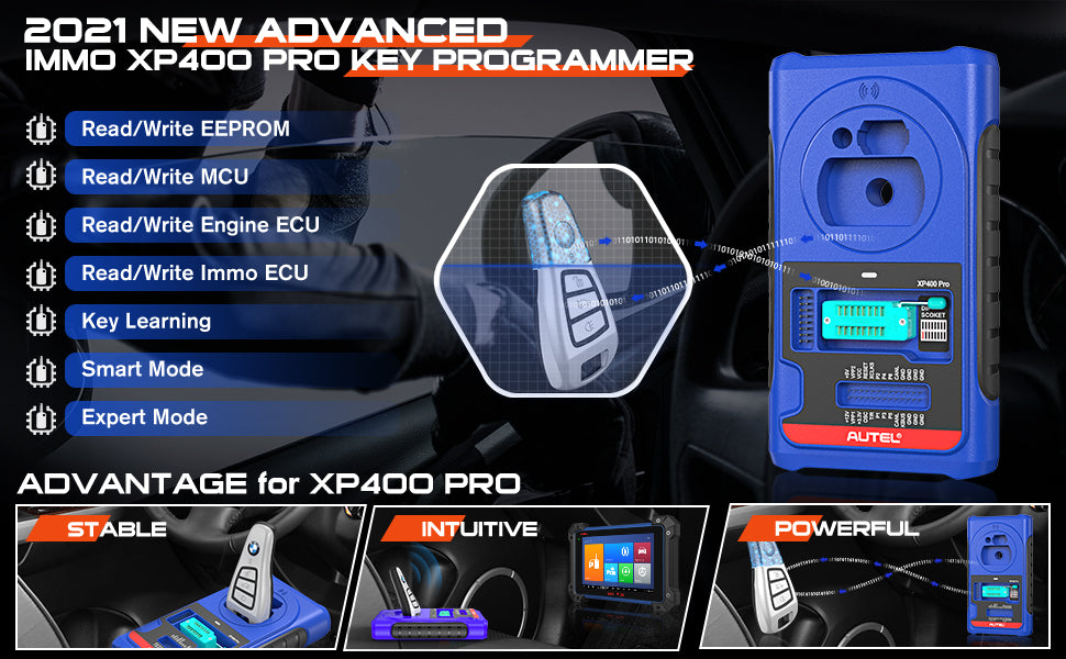 xp400 pro main features