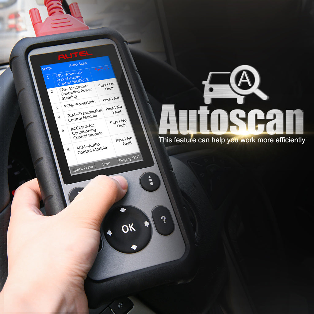 Autel md806 scanner autoscan diagnostic function