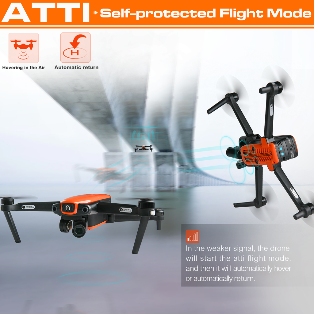 autel drone self-protected flight mode