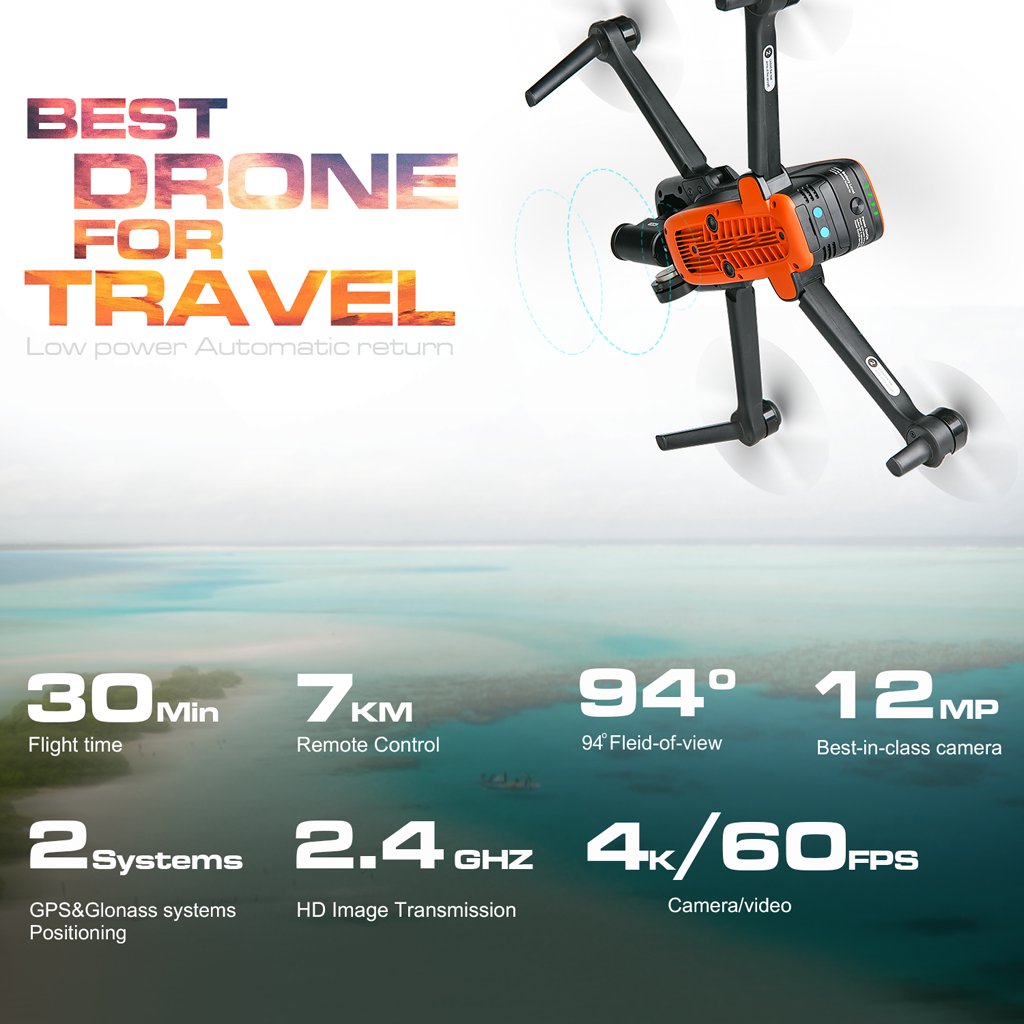 autel drone flying time
