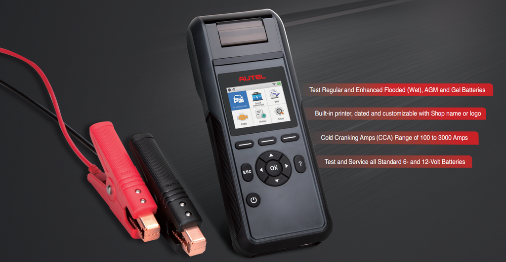 autel maxibas bt508 battery tester