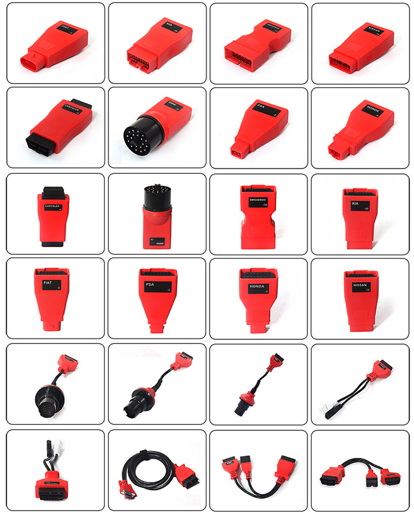 Autel ms908p adapters