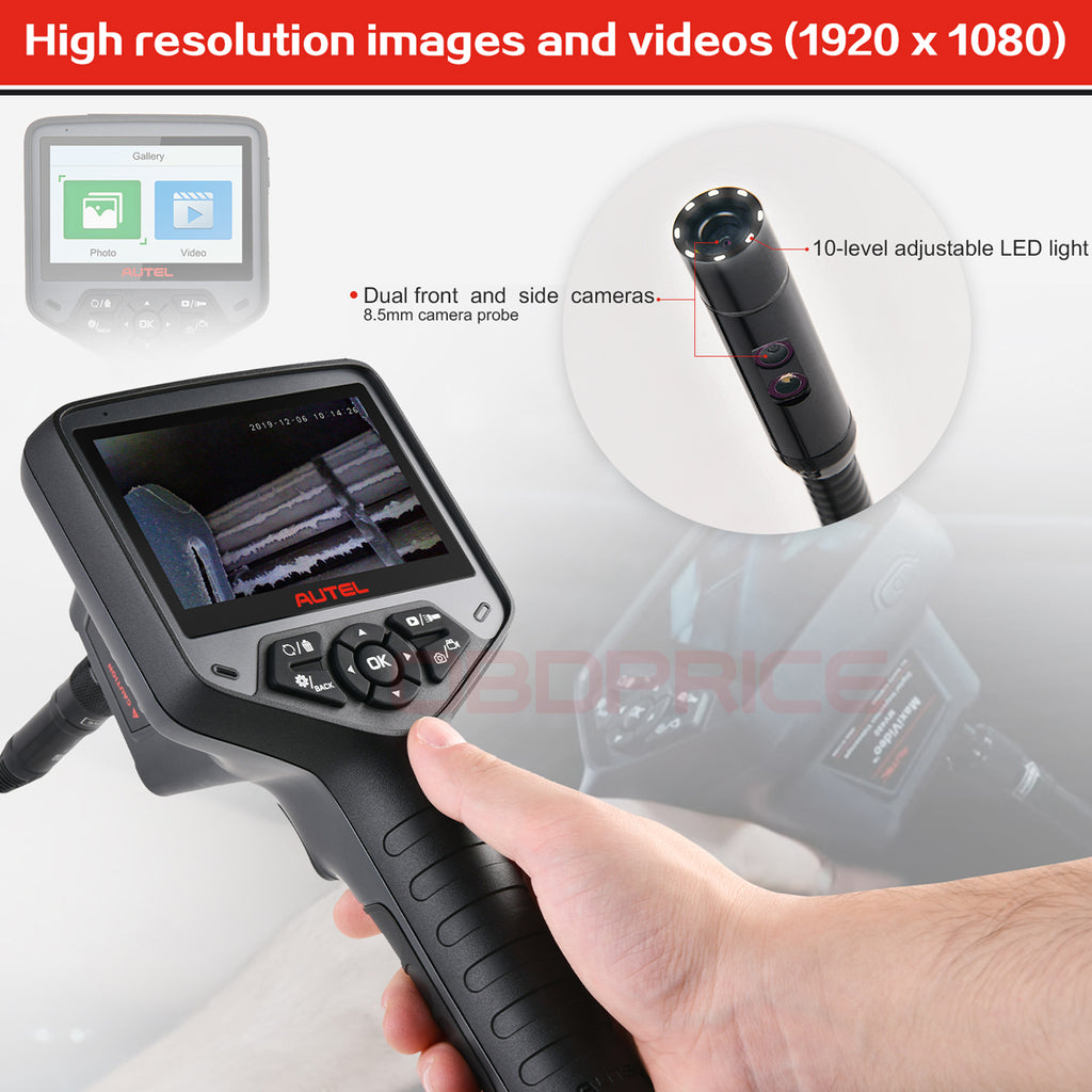 autel maxivideo mv480 Inspection Camera with Dual-camera head