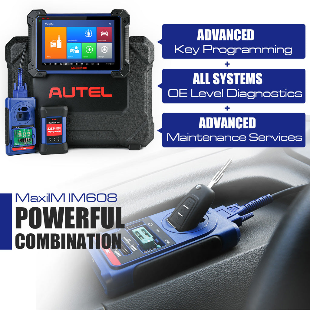 im608 Car Diagnostic and Key Programming Tool main featrures