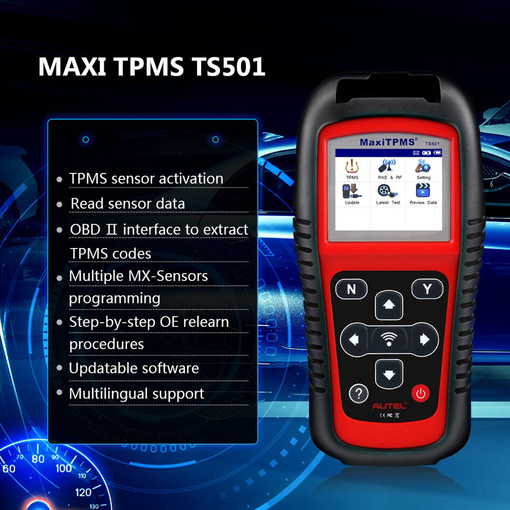 Autel TS501 Main Features