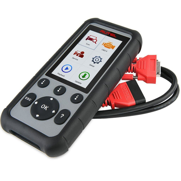 Autel MD806 and OBD2 cable