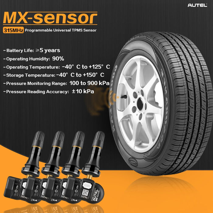 autel mx-sensor specification