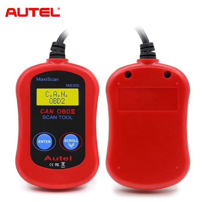 Autel Maxiscan MS300 OBD2 Car CAN Auto Diagnostic Code Reader Scan New Tool