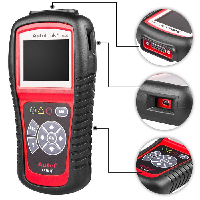 autel al519 details display