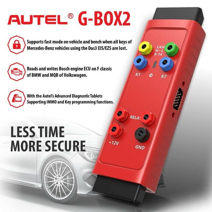 Autel G Box G-BOX2 Tool Benz & BMW Adapter G-Box Mercedes Benz All Key Lost Tool Used with MaxiIM IM508 IM608