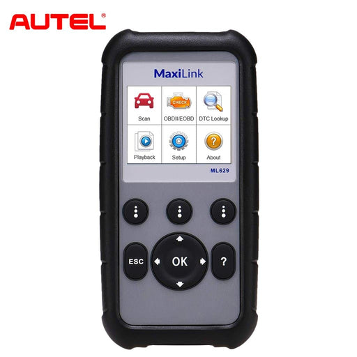 Autel MaxiLink ML629 (AL629) Code Reader ABS Airbag OBD2 Scanner Check Engine Transmission