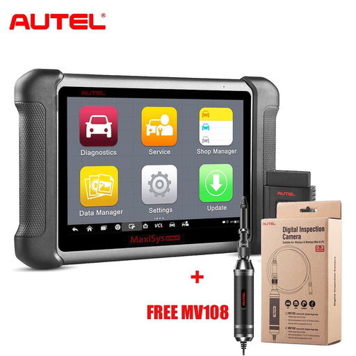 Autel MS906BT MaxiSys MS906 BT Auto Diagnostic Scanner + Free MV108 Camera