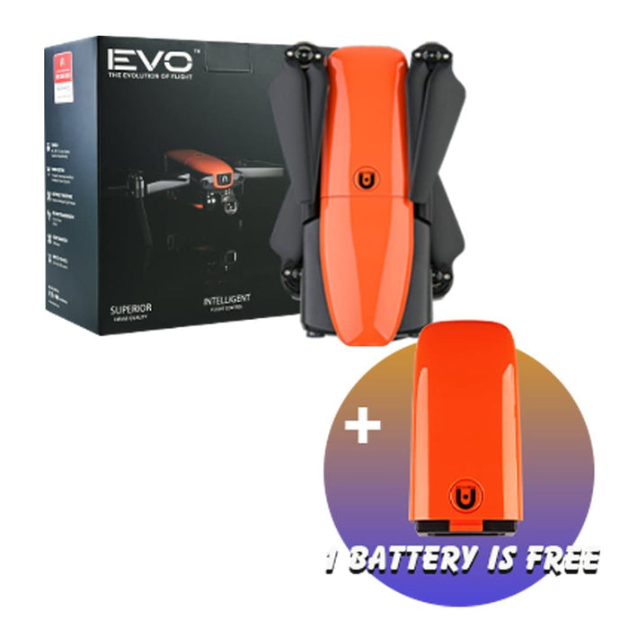 【Xmas Sale】Autel Drone EVO Robotics Foldable Quadcopter 1080P 60FPS 4K Camera Three-Way Obstacle Avoidance 2 Batteries EVO Bundle