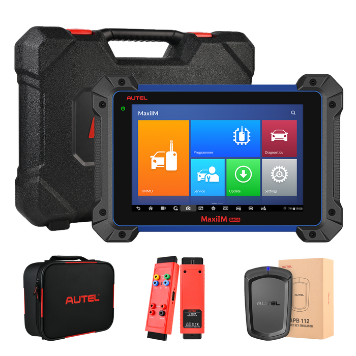 【US STOCK】Autel MaxiIM IM608PRO Key Programmer Car Key Programming Tool with XP400 PRO IMKPA Kit Accessories