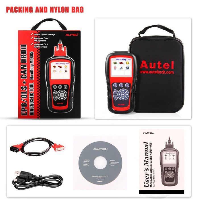 autel md805 package