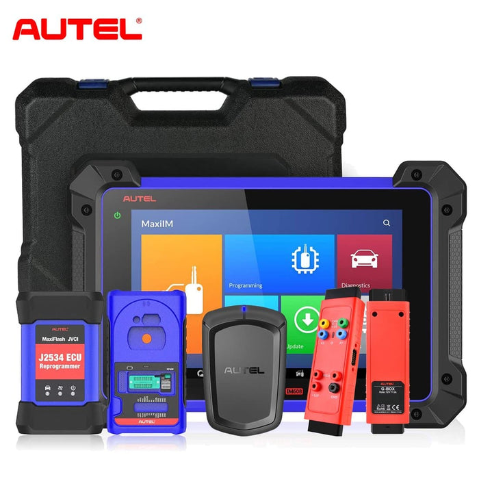 【US STOCK】Autel MaxiIM IM608 All Key Lost Programming Tool & Autel APB112 Smart Key Simulator & G-BOX2