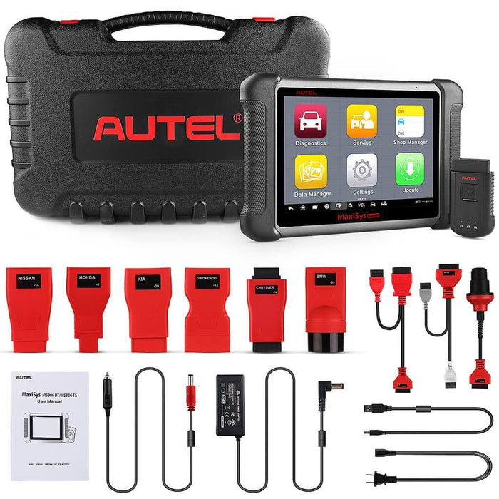 Autel Maxisys MS906BT MS906 BT Auto Diagnostic Tool Bluetooth Scanner + Free MV108 Camera