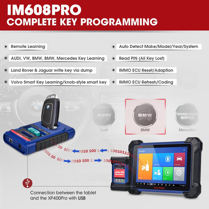 im608pro key programming services