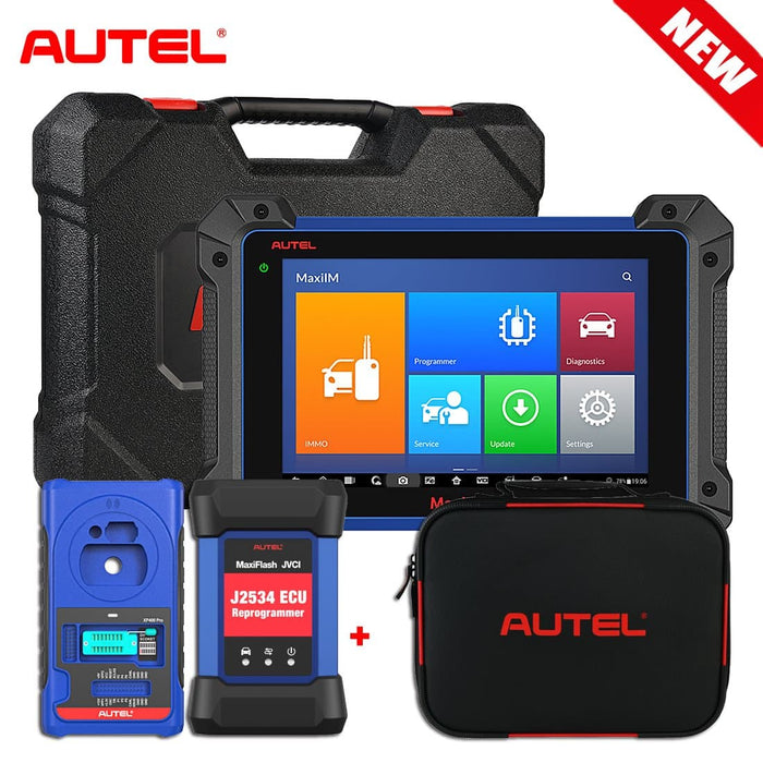 Autel MaxiIM IM608 PRO Key Programmer Car Key Programming Tool with XP400 PRO IMKPA Kit Accessories