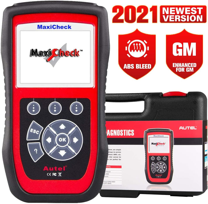 Autel Maxicheck Pro for ABS Brake Auto Bleeding Scan Tool with Airbag, EPB, SAS, BMS, Oil Reset Services, Support Specific Vehicles Only
