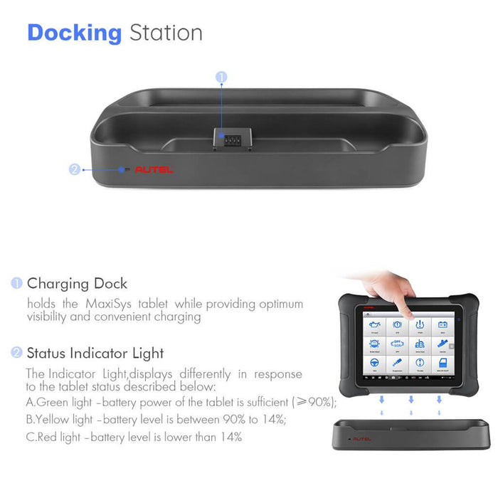 maxisys elite docking station