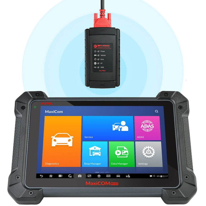 Autel mk908 bluetooth connection