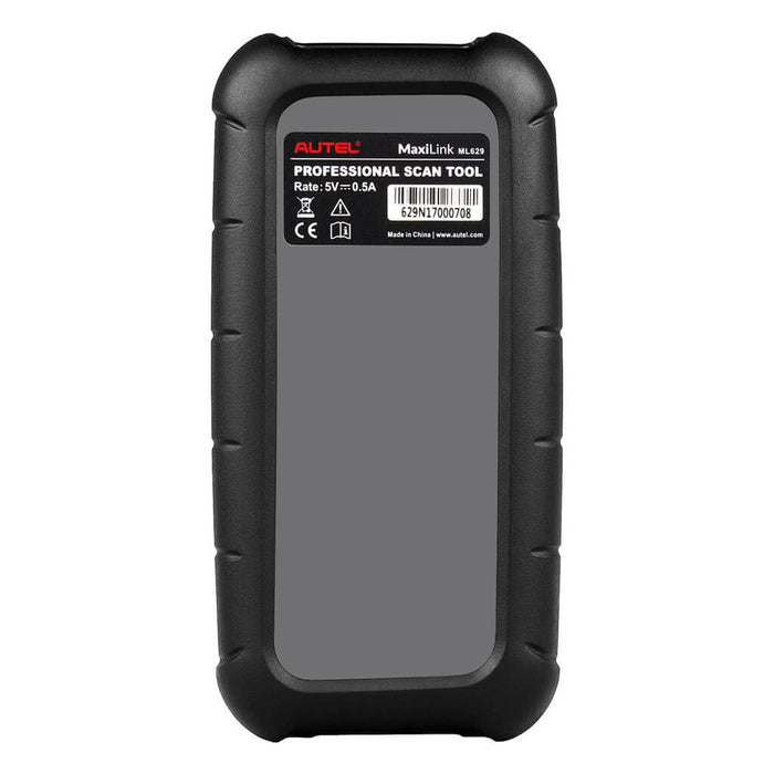 Autel MaxiLink ML629 Code Reader back display