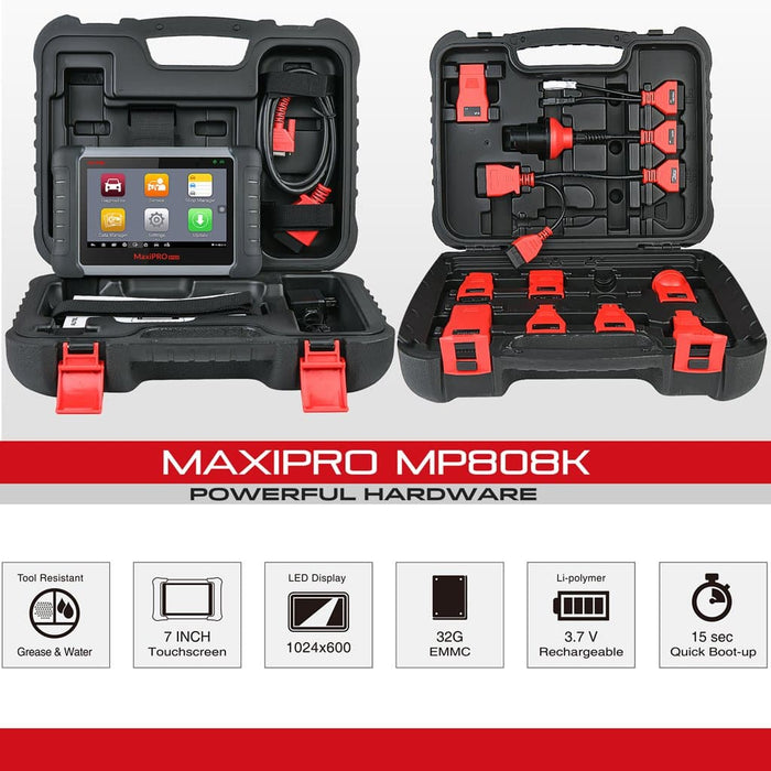 Autel MaxiPro MP808K Diagnostic Tool specification