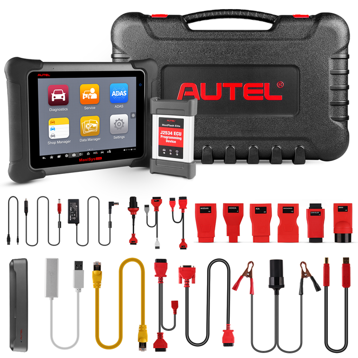 autel maxisys elite package content