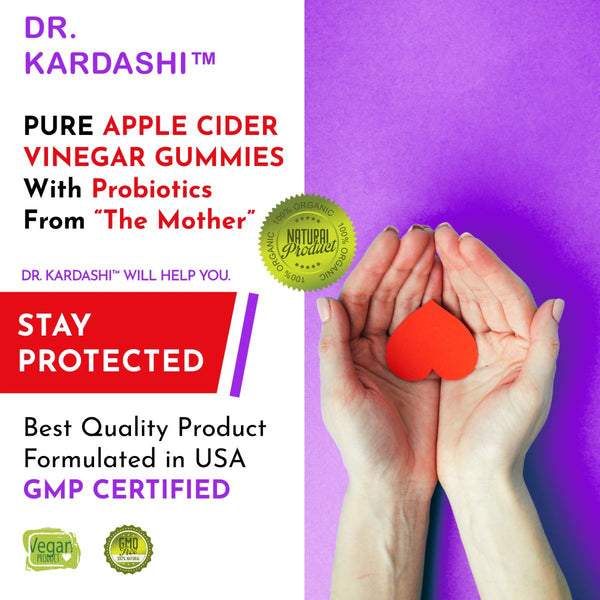 World's Best Apple Cider Vinegar Gummies from The Mother, Cleanse, Detox, and Immune System Support