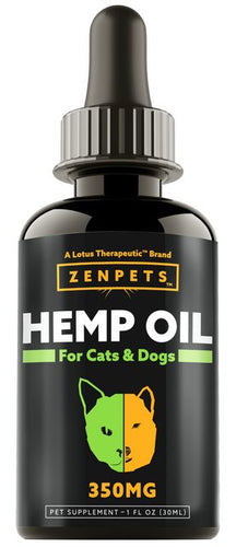 TRUAZTA 350mg Hemp Oil For Dogs for Pain Relief & Dog Anxiety Relief, Natural Hemp Oil for Pets, Stress Relief Essential Oil for Dogs & Cats