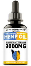 TRUAZTA 3000mg Hemp Oil For Dogs for Pain Relief & Dog Anxiety Relief, Natural Hemp Oil for Pets, Stress Relief Essential Oil For Dogs & Cats