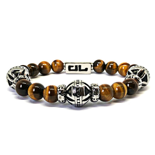 Golden Tiger Eye Tribus Bracelet