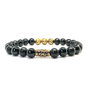 Black Shadow 8mm Aveon Bracelet