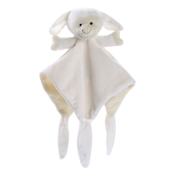 Newborn Soft Baby Teddy Bear Puppet Toy Gift Snuggle Baby Comforter Blanket
