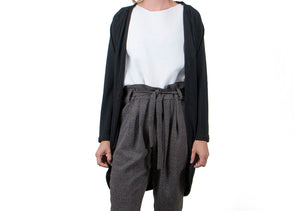 Vietto Pocket cardigan black
