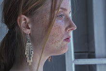 Load image into Gallery viewer, Vietto Urban Art deco earrings
