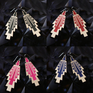 Vietto Urban Art deco earrings