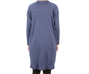 Vietto Pocket cardigan blue