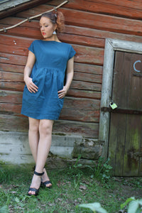 Vietto Tulip linen dress