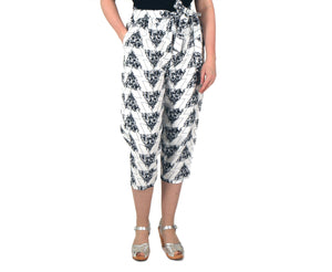 Vietto Wildflowers linen trousers
