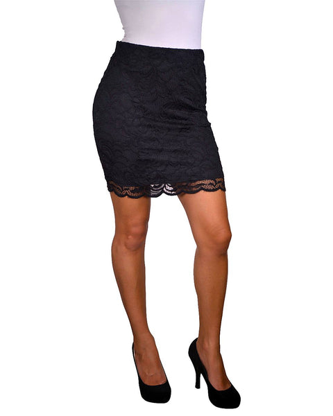 Ladies form fitting skirt
