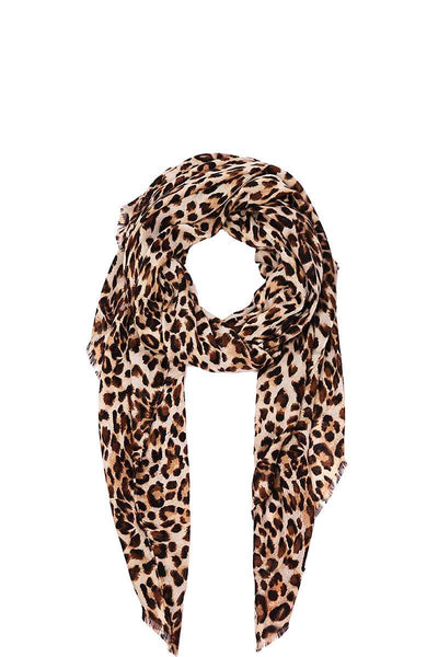 Hot Trendy Leopard Print Scarf