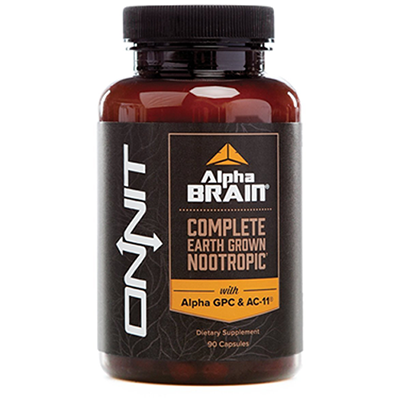 Onnit Alpha Brain with Alpha GPC & AC-11   Buy Online at Brainsmart
