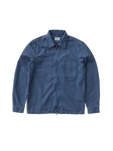Sten Zip Canvas - Oden Blue
