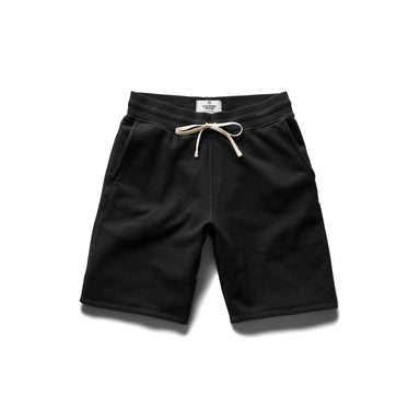 Mid Weight Terry Sweatshort – Black