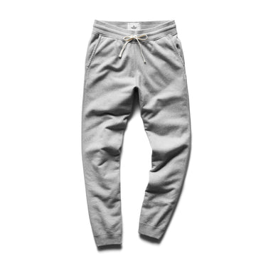 Mid Weight Terry Slim Sweatpant – H. Grey